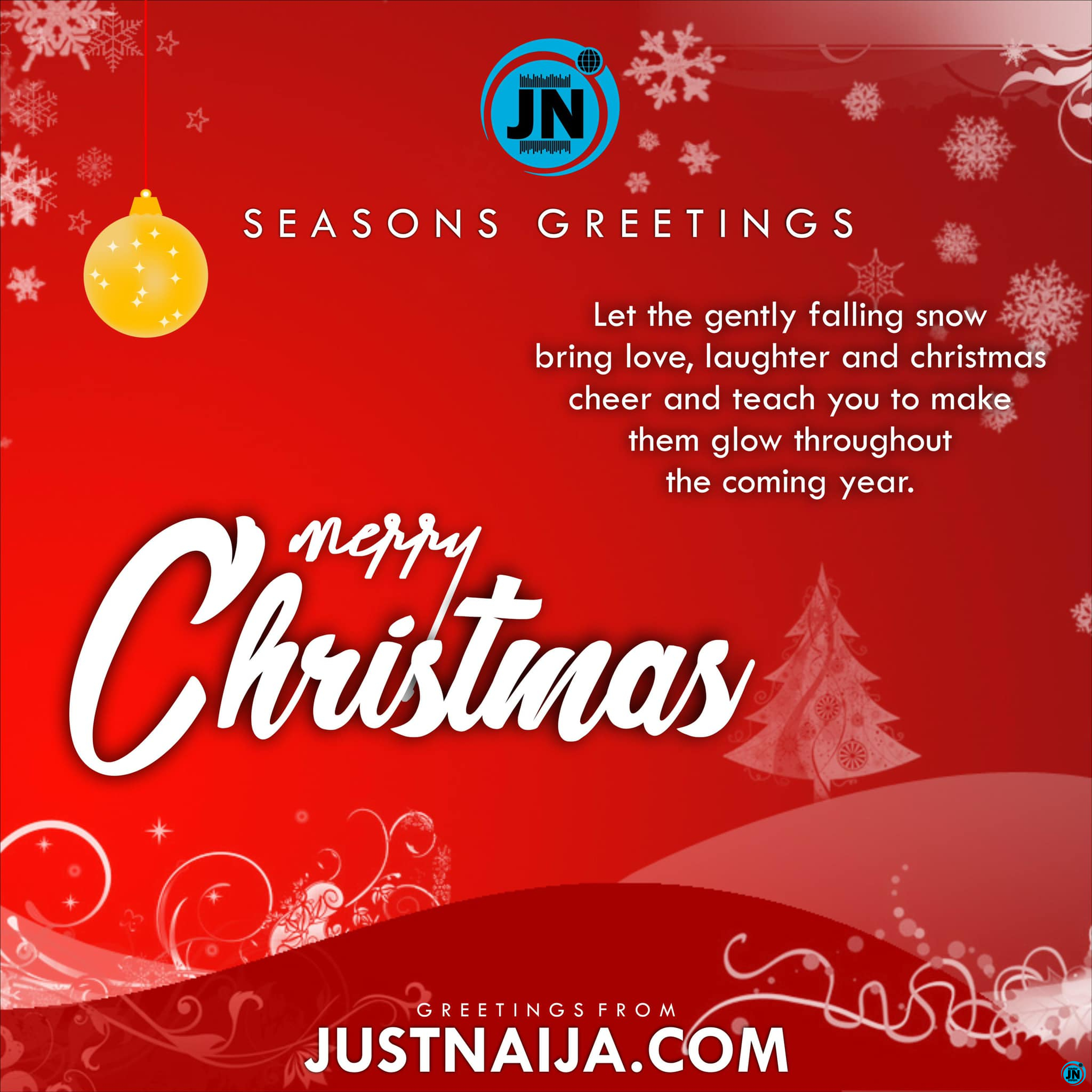 Merry Christmas To Y'all, From All Of Us At JustNaija